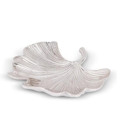 Ginkgo Leaf Plate - Medium