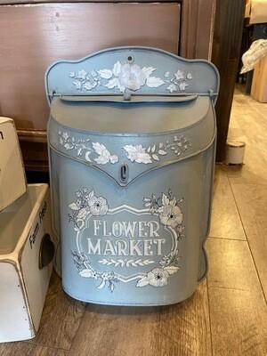 Metal Mailbox - Flower Market