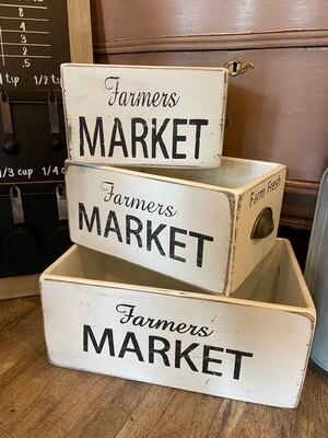 Farmer's Market Crate - 3 sizes