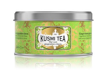 Ginger-Lemon Green Tea