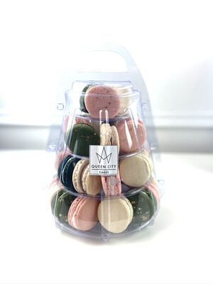 Assorted Macarons Tier