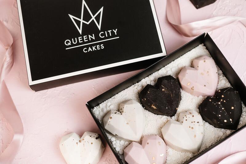 Heart Cake Truffles