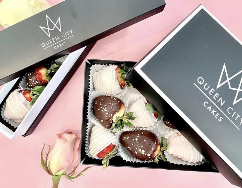 Heart Truffles / Chocolate Strawberries