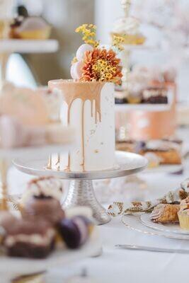 thanksgiving floral cake
