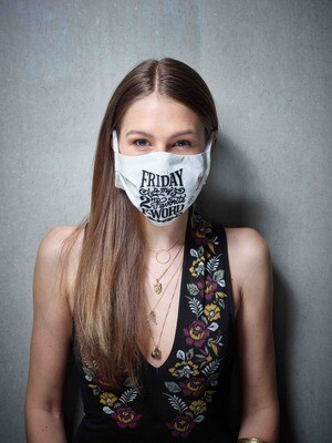 Stoffmaske F-Word - Farbe wählbar
