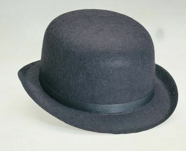 Black Felt Derby (Adult)