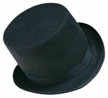 Black Top Hat (Child)