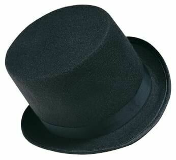 Black Top Hat (Child)