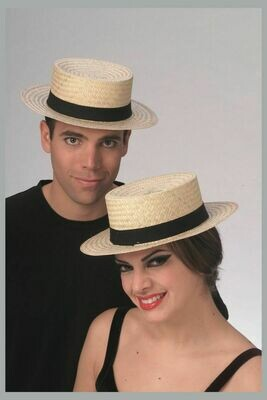 Straw Sailor Hat