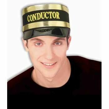 Black Conducter Hat