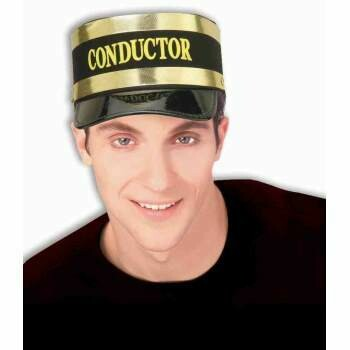 Black Conducter Hat