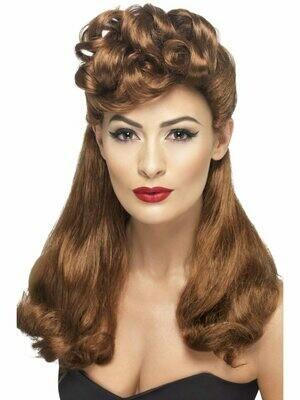 Auburn Vintage 40's Wig