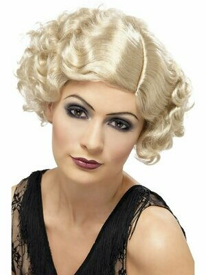 Flirty Flapper wig Blond