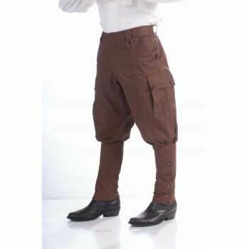 Steampunk Breeches Brown