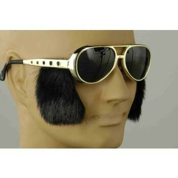 Rock & Roll Sunglasses with sideburn