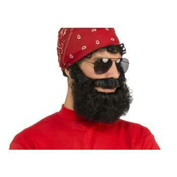 Realistic Curly Beard set