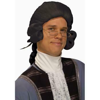 Historical Wig Black