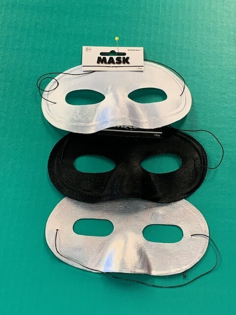 Satin eye,mask asst