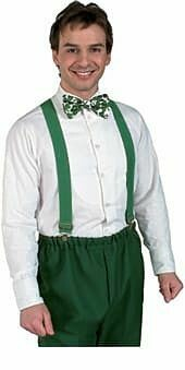 Suspenders Green