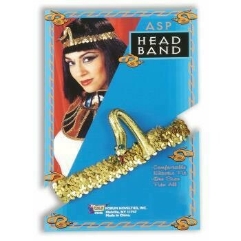Cleopatra Gold Sequin Headband