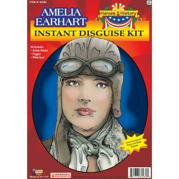 Amelia Earhart - Disguise Kit