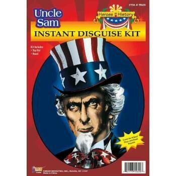 Uncle Sam Disguise Kit
