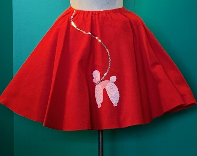 50's Felt Poodle Skirt