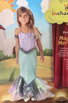 In Character Child Magical Mermaid