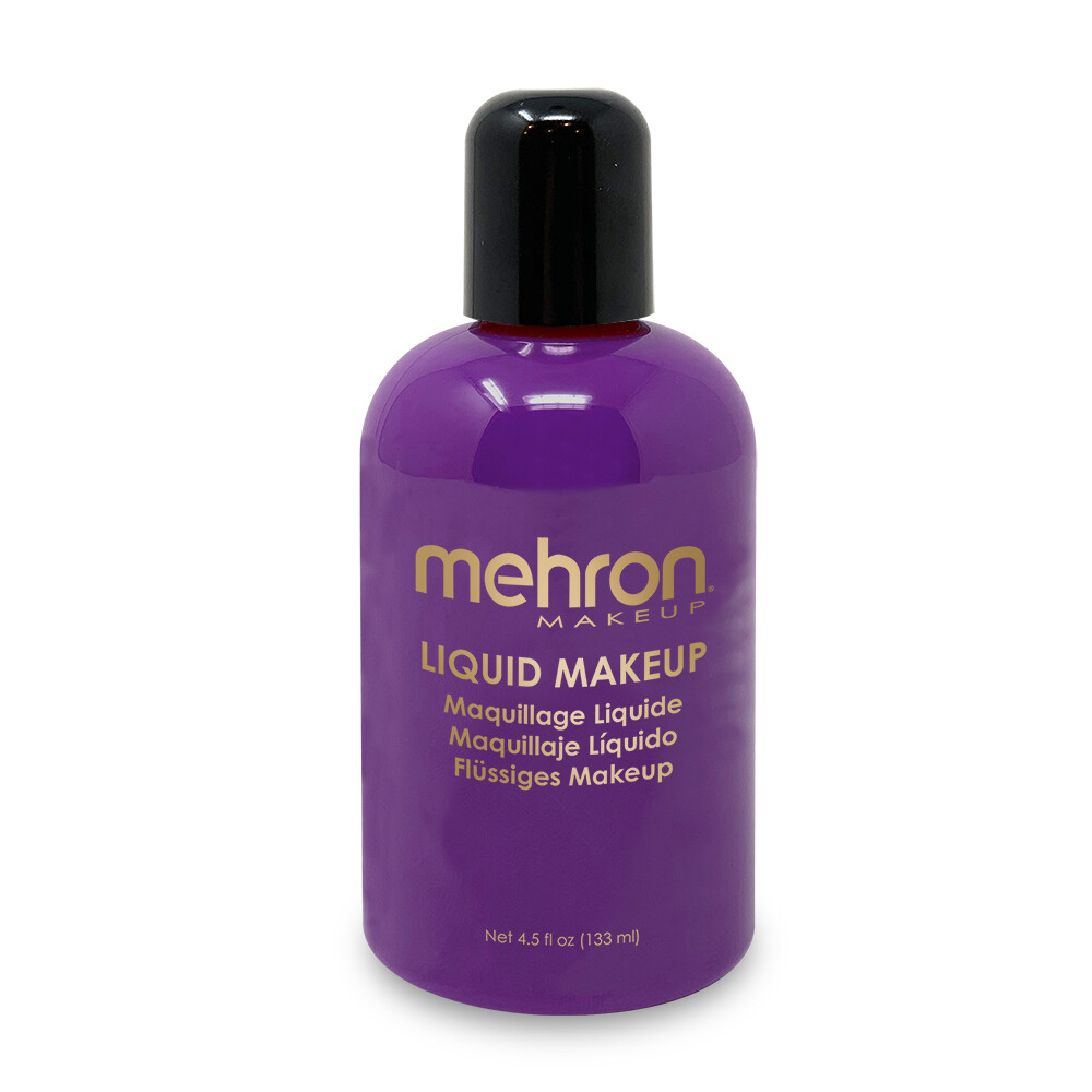 Purple Mehron Liquid Makeup 4.5 oz
