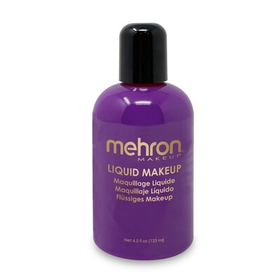 Purple Mehron Liquid Makeup 4.5 oz