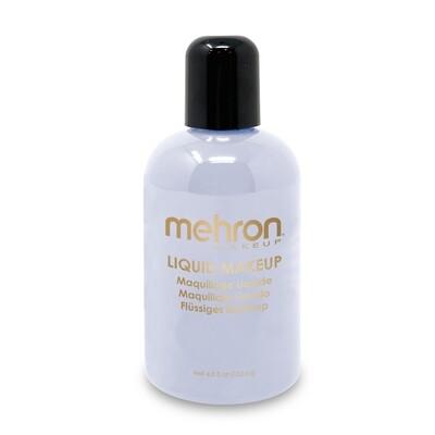 White Mehron Liquid Makeup 4.5 oz