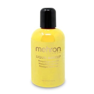 Yellow Mehron Liquid Makeup 4.5 oz YLW