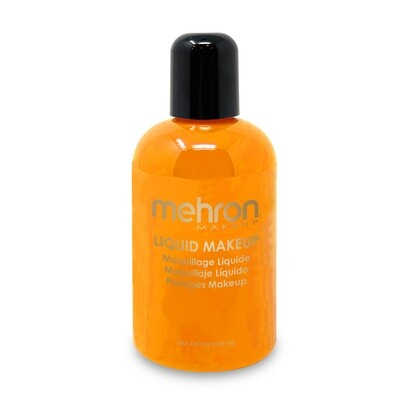 Orange Mehron Liquid makeup 4.5 oz