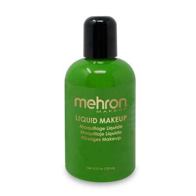 Green Mehron Liquid Makeup 4.5 oz