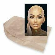 Bald Cap Professional Makeup Kit