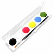 Waterworks 6 Color Makeup  Palette with brush