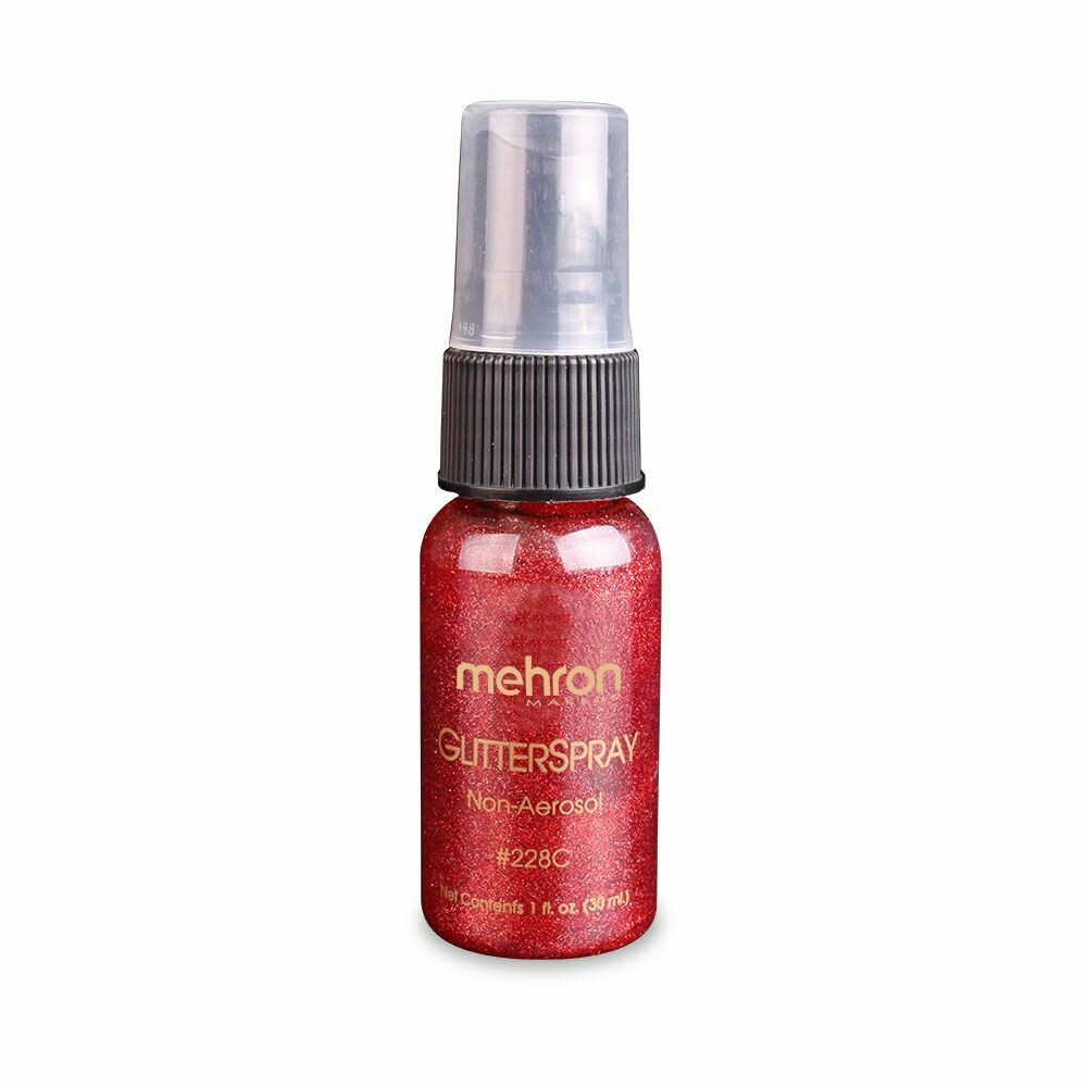 Glitter Spray Red - 228-R