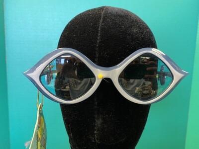 Curly Q Blue Sunglasses