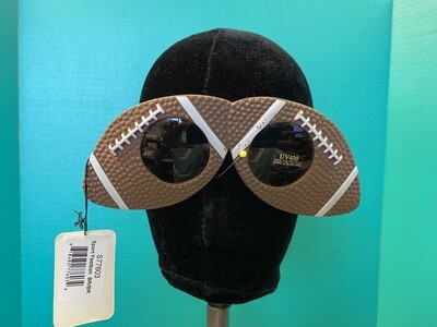 Sport Football Brown Sunglasses