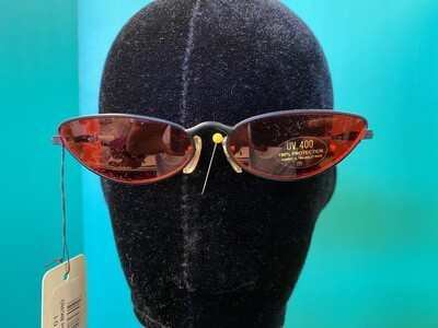 Vampires Black & Red Sunglasses
