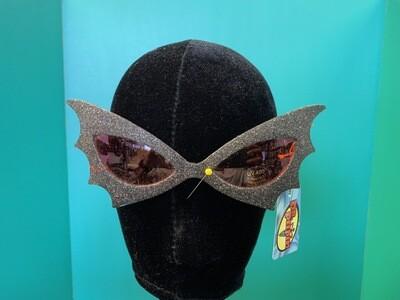 Glitter Wing Black & Red Sunglasses