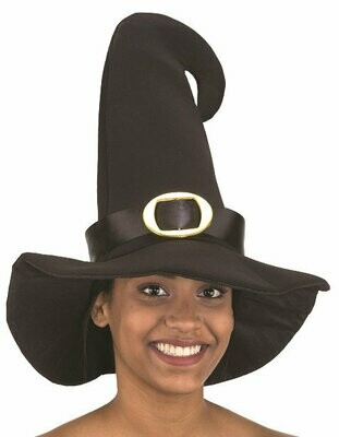 Witch Hat with Buckle