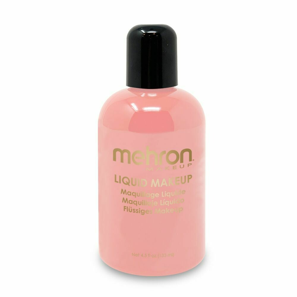 Pink Mehron Liquid Makeup 4.5 oz