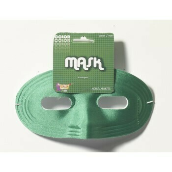 Domino Eye Mask Green
