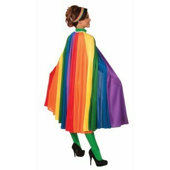 56 inch Rainbow Cape
