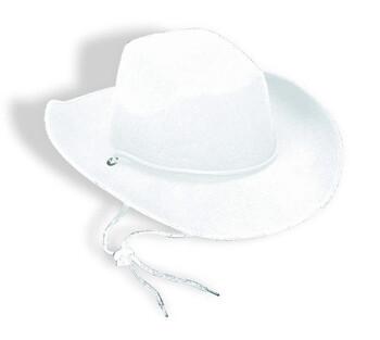 White Western Durango Felt Hat