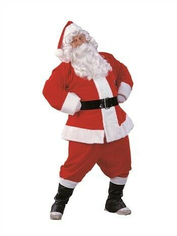 Deluxe Santa Claus Adult Costume