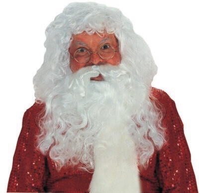 Professional Santa Claus Wig & Beard Set