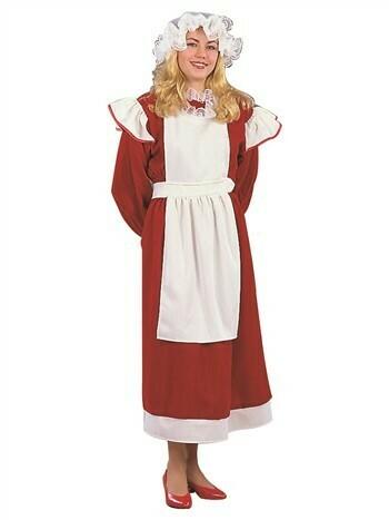 Deluxe Mrs. Santa Adult Costume