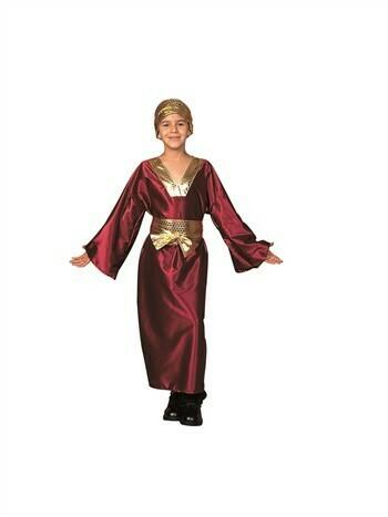 Wiseman Child Costume (Wine)